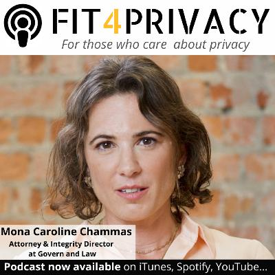 041 Conflict of Interest and GDPR in the FIT4PRIVACY Podcast  with Mona Caroline Chammas  (Full Episode)