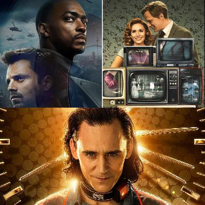 Episode 43: Disney/Marvel series special: WandaVision, The Falcon and Winger Soldier, and Loki