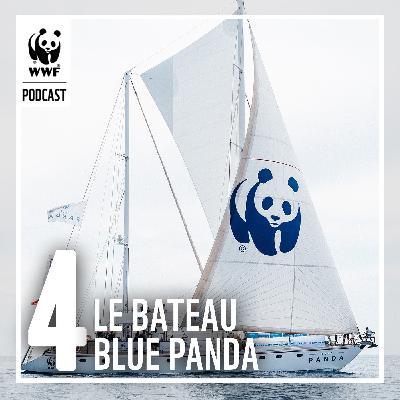 Le bateau Blue Panda et la mobilisation citoyenne