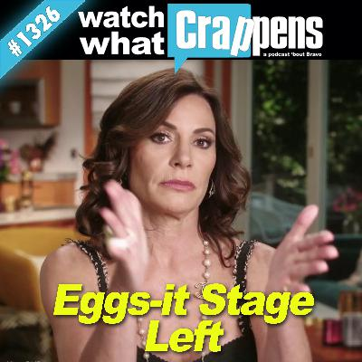 RHONY: Eggs-it Stage Left
