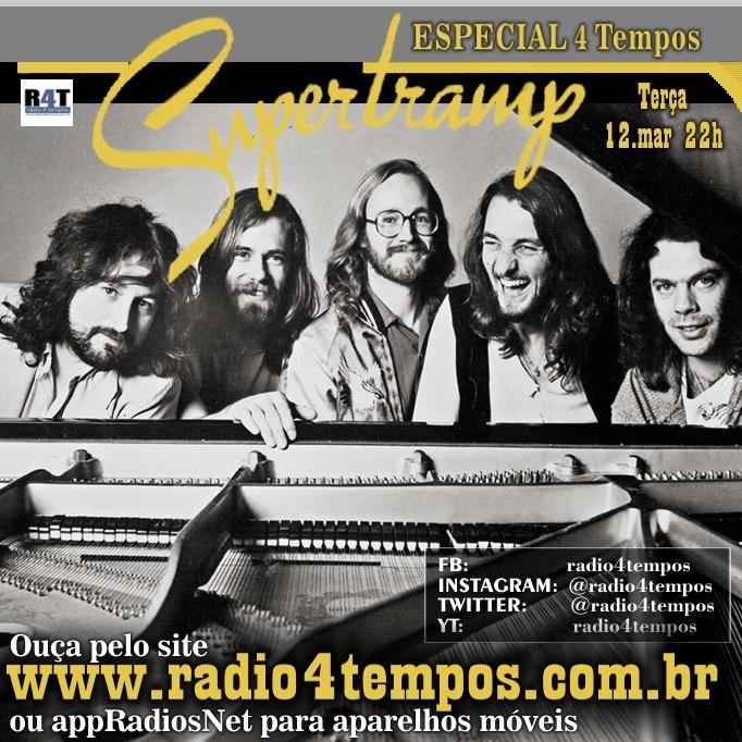 Rádio 4 Tempos - Especial 4 Tempos - Supertramp