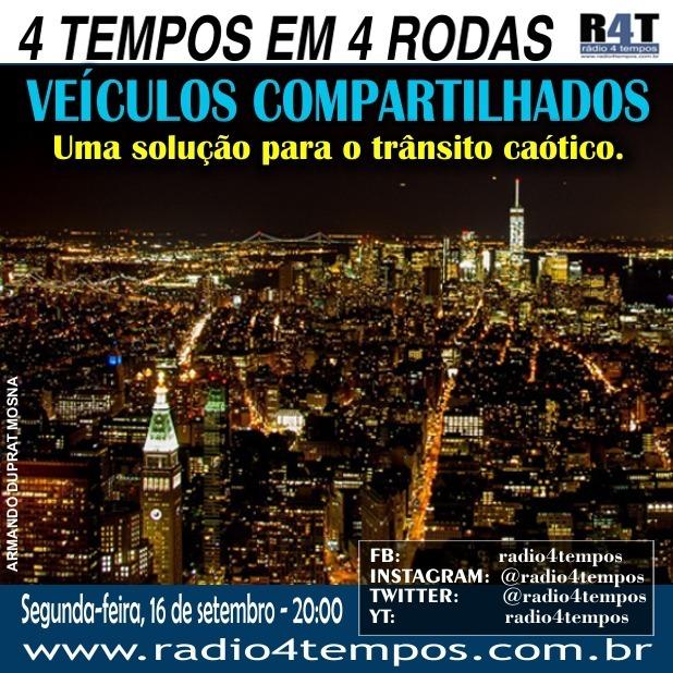 Rádio 4 Tempos - 4 Tempos em 4 Rodas 23:Rádio 4 Tempos