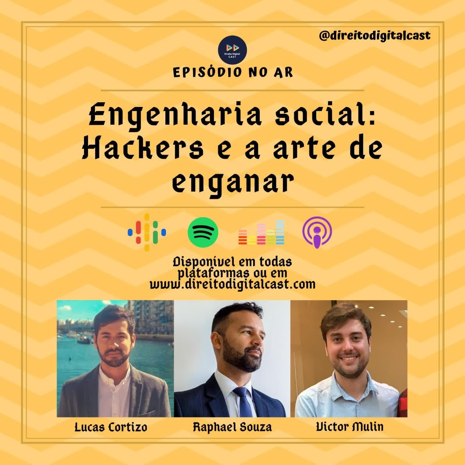 #62 Engenharia social - Hackers e a arte de enganar