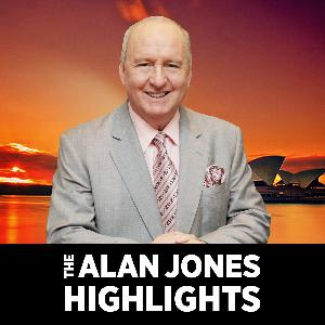 End of an era: Alan Jones farewells his radio family