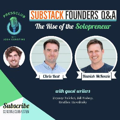 Substack's founders on the shift from publishers to personalities