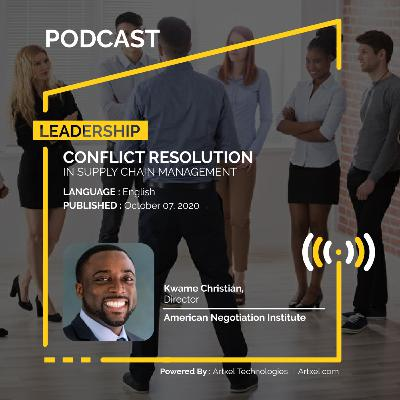 106. Conflict resolution in supply chain management