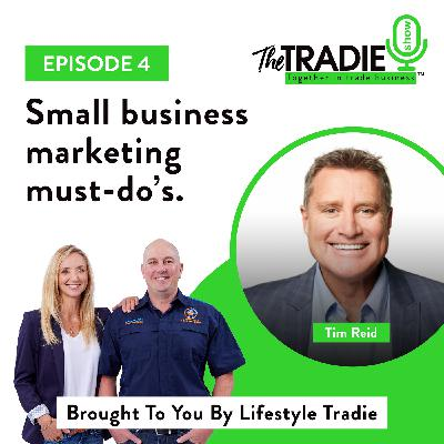 Small business marketing must-do's - Guest starring Tim Reid