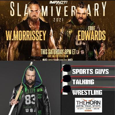 Eddie Edwards Impact Slammiversary Jul 8 2021