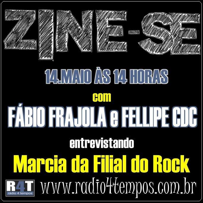 Rádio 4 Tempos - Zine-se 04