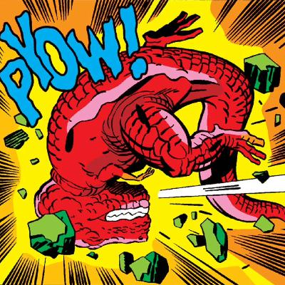 The Kids Present Kudos Kirby - Devil Dinosaur #9 THE WITCH AND THE WARP