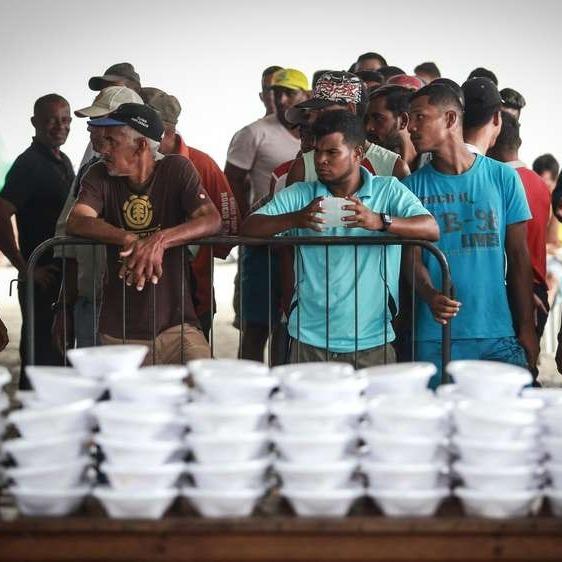 Fome aumenta 43,7% em 5 anos no Brasil, afirma IBGE