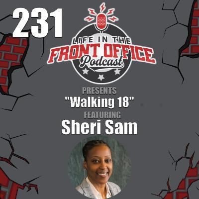 Walking 18 with Sheri Sam, Managing Director NCPGA Foundation, Former 2x WNBA Champion