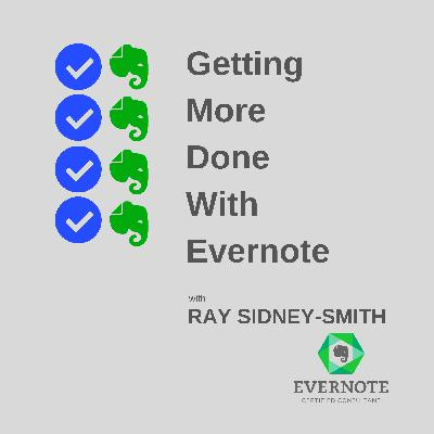 An Introduction to Evernote's New Feature, Home; and, the New Evernote Masterclass Series Announcement