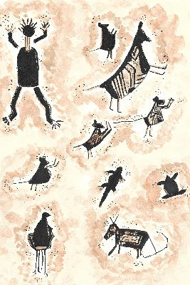 Raider of the lost art -- newfound cave-drawings hold pouched secrets