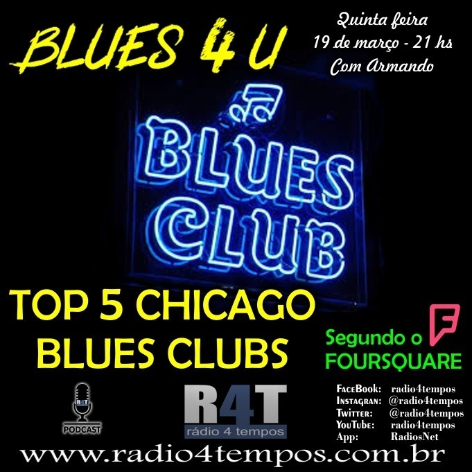 Rádio 4 Tempos - Blues 4 U 19:Rádio 4 Tempos