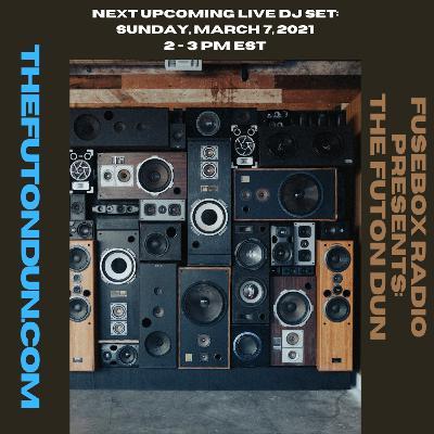 Episode 487: FuseBox Radio #639: DJ Fusion's The Futon Dun Livestream DJ Mix Spring Session #1 (Park Bench Sit Near The Indie Record Store Mix)