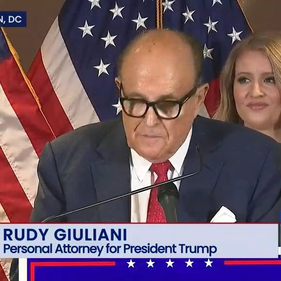 11-19-2020 - Trump Campaign News Conference on Legal Challenges