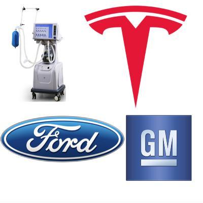 Trump Encourages Tesla, GM & Ford To Make Ventilators