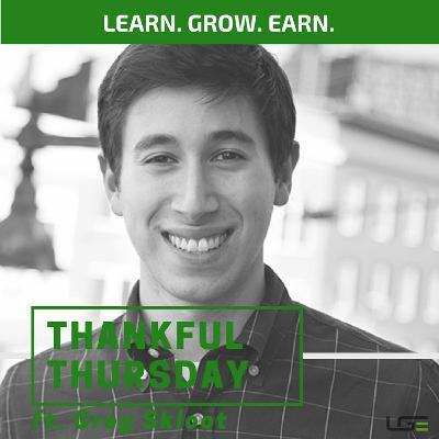#ThankfulThursday with Greg Skloot