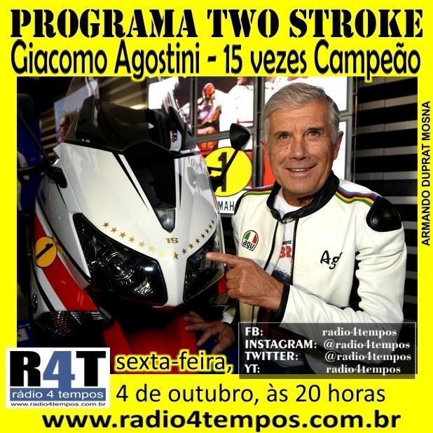 Rádio 4 Tempos - Two Stroke 72:Rádio 4 Tempos
