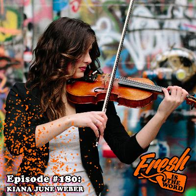 Episode #180: Kiana June Weber – Fiddle Player in Come From Away Musical Coming to the Fisher Theatre in Detroit, Formerly in BARRAGE and GAELIC STORM