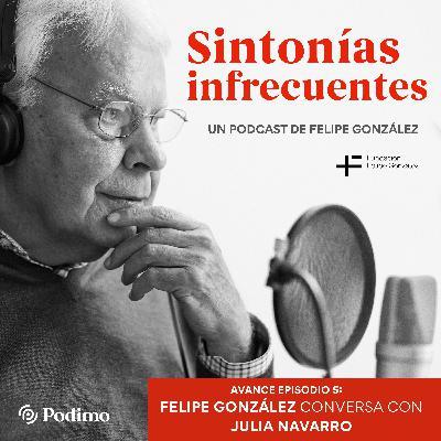 Avance Episodio 5: Periodismo y cultura. Felipe González conversa con Julia Navarro