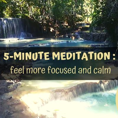 How to Feel More Calm in 5 Minutes (Meditation)