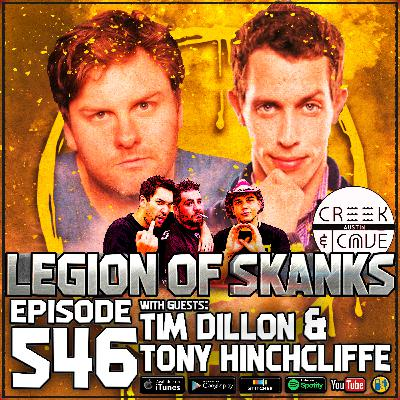 Episode #546 - Live From The Creek And The Cave - Tim Dillon, Tony Hinchcliffe, & Zac Amico
