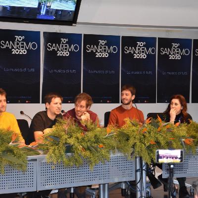 Sanremo 2020 - Intervista agli Eugenio in via di Gioia