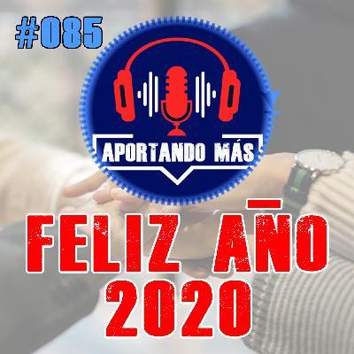 Feliz Año 2020   085 - Aportandomas.com