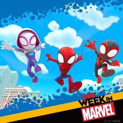 Marvel Studios' Hawkeye Update, New Spidey Music, Taskmaster, and More!