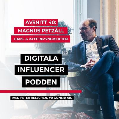 40. Magnus Petzäll, CDO på Havs- och vattenmyndigheten – digitalisering inom offentlig sektor: att göra sig av med ett tekniskt arv