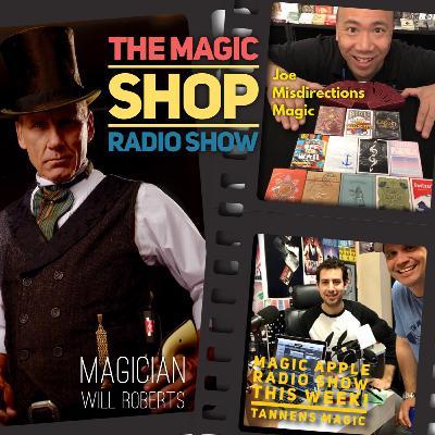 The new @MagicShopRadio Show with Joe from @MisdirectionsMagic in San Francisco