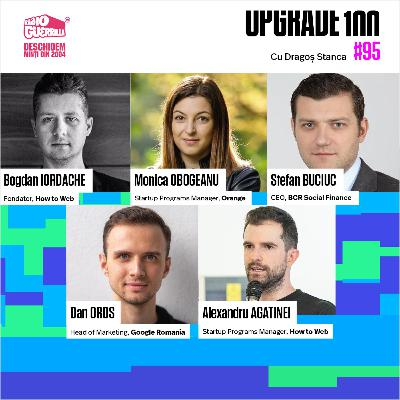 #95 Ce este LAUNCH.ro? Lansarea comunității fondatorilor de startups digital / tech la UPGRADE 100