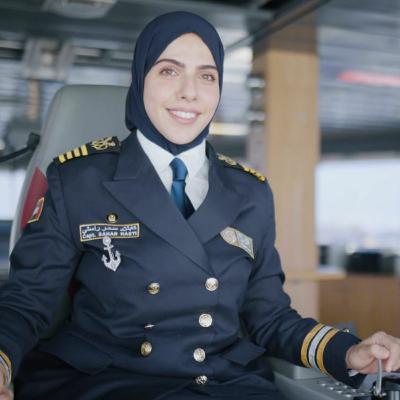 Meet Sahar Rasti, UAE's First Female Ship Captain (26.08.21)