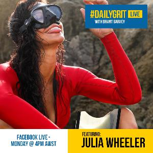 EP004: Holding your breath with guest Julia Wheeler - The No Xcuses Show