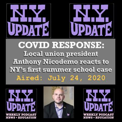 Covid Response: Anthony Nicodemo, union president Greenburgh-North Castle district