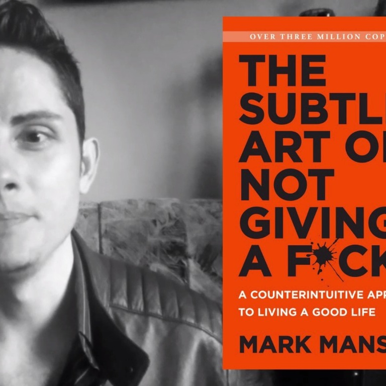 Mark Manson's Theory of Personal Growth [The Subtle Art of Not Giving a F*ck Book Review]