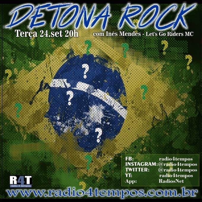Rádio 4 Tempos - Detona Rock 25:Rádio 4 Tempos