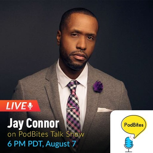 Jay Connor on PodBites #GoLive #Interview