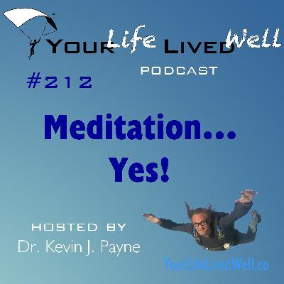 Meditation…YES!