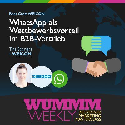 Tina Spengler - Wie nutzt WEICON WhatsApp im weltweiten B2B-Vertrieb?