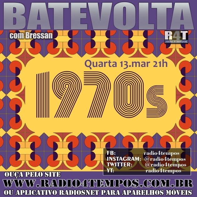 Rádio 4 Tempos - BateVolta 174:Rádio 4 Tempos