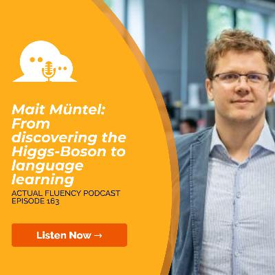 AFP 163 - Mait Müntel: From discovering the Higgs-Boson to language learning