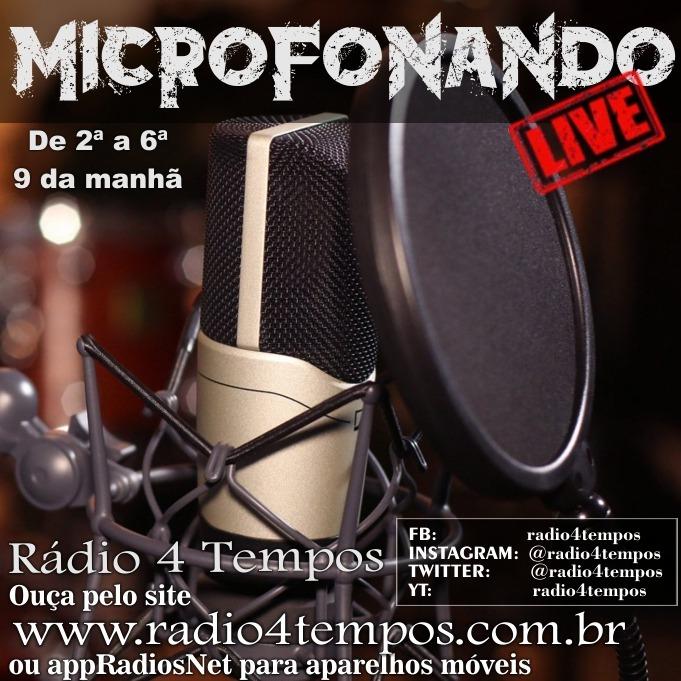 Rádio 4 Tempos - Microfonando 25