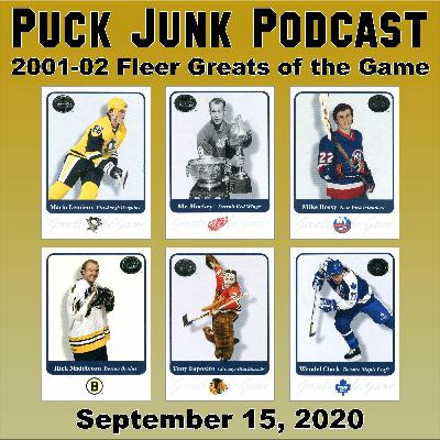 2001-02 Fleer Greats of the Game Hockey Cards | #69 | 9/15/2020