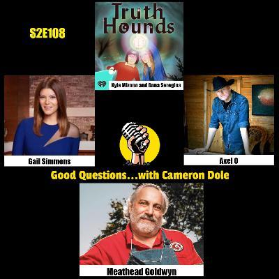 S2E108 - Anna Seregina and Kyle Minozo, Gail Simmons, Axel O, and Meathead Goldwyn