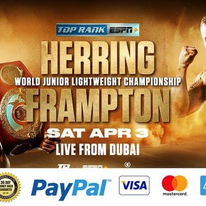 how to watch Carl Frampton vs Jamel Herring Live Boxing Online Free