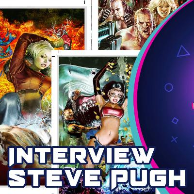 Interview with Comic Book Artist Steve Pugh