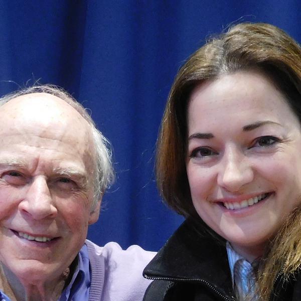 John Hannam Meets Laura Michelle Kelly